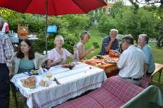 Bleikers Gartenfest im Juli